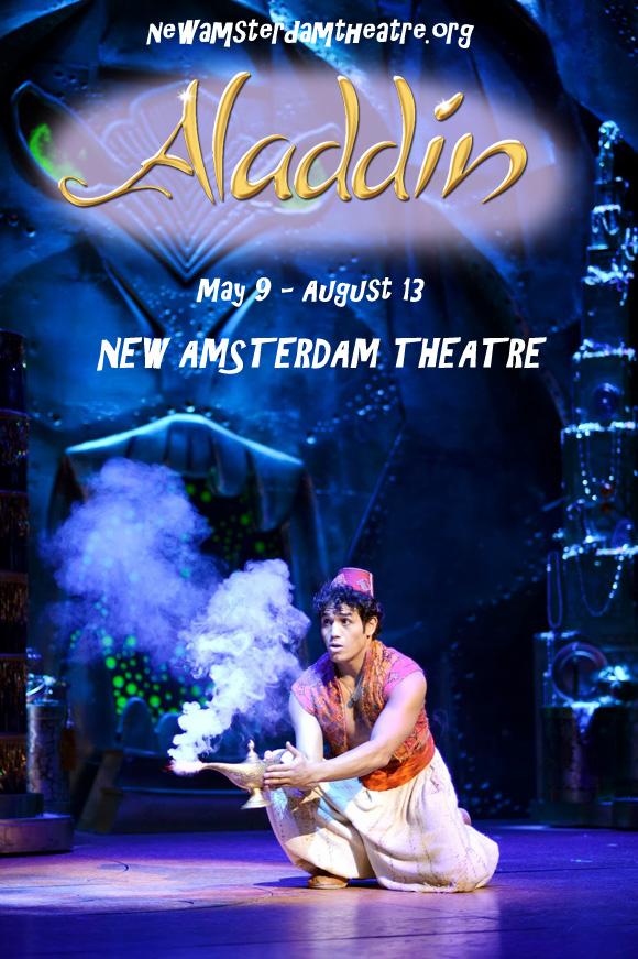 aladdin musical live new amsterdam theatre