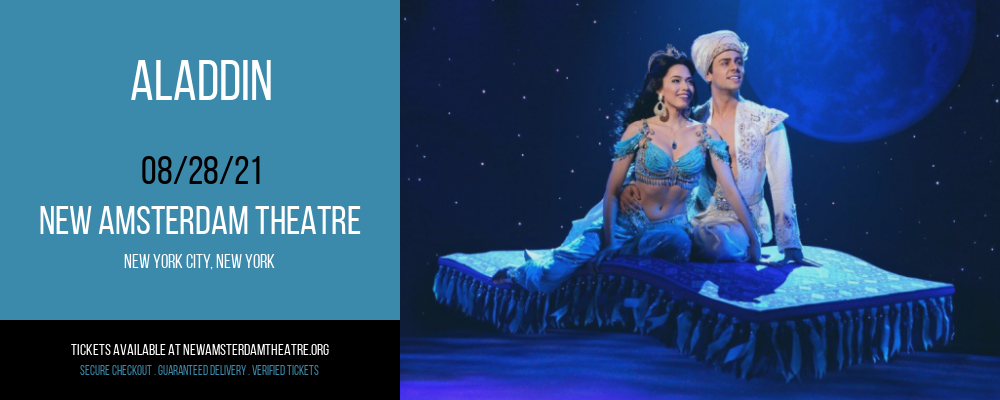 Aladdin [CANCELLED] at New Amsterdam Theatre